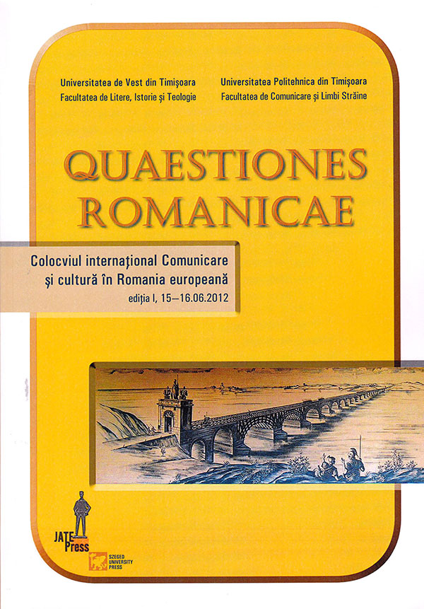 Quaestiones Romanicae I